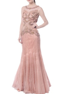 light-pink-embellished-gown