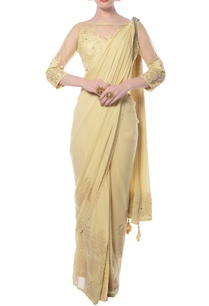 soft-yellow-embroidered-sari