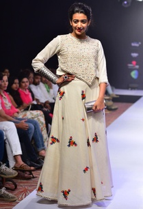 white-thread-embroidered-skirt