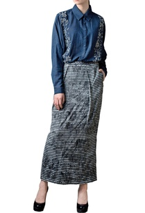 light-grey-printed-skirt