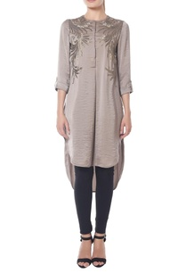 grey-high-low-tunic-with-fern-embroidery