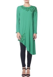 sea-green-asymmetrical-sequined-tunic
