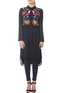 black-high-low-kalamkari-tunic
