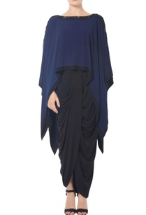 navy-blue-metallica-high-low-cape
