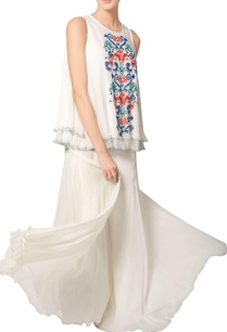 white-double-layered-embroidered-top