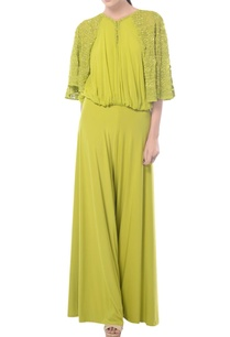 lemon-green-aztec-embroidered-jumpsuit