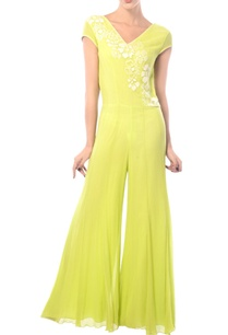 lime-yellow-embroidered-jumpsuit