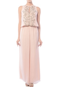 blush-pink-embellished-jumpsuit