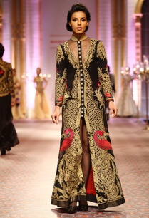 black-gold-embroidered-long-jacket