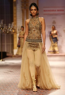 beige-sequin-embellished-gown
