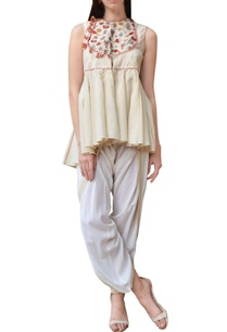 cream-embroidered-jacket-top-with-dhoti-pants