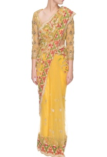 yellow-patti-embellished-sari-with-blouse