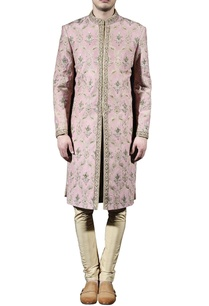 blush-pink-gold-embellished-sherwani