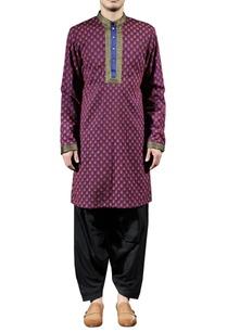 purple-blue-printed-kurta-set