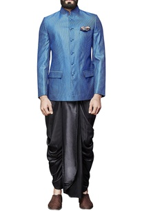 classic-blue-embroidered-collar-jacket