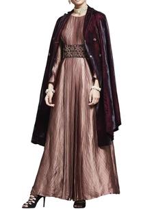 rust-pink-zardozi-embroidered-dress