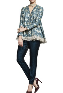 teal-embroidered-jacket-with-pants