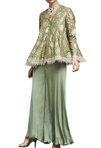 moss-brocade-embellished-top-with-sharara