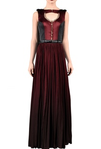 wine-black-bird-embellished-maxi-dress