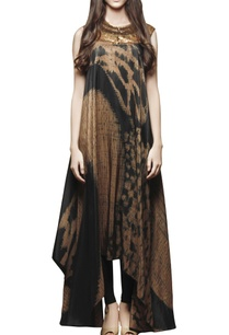 black-shibori-print-embroidered-tunic