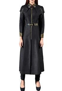 black-embellished-jacket-with-slim-pants