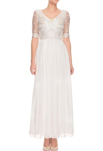 ivory-geometric-floral-embroidered-maxi-dress