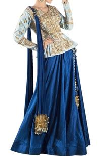 blue-danka-dori-embroidered-lehenga-set