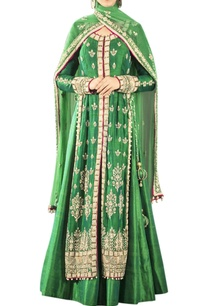 green-zardozi-work-lehenga-set