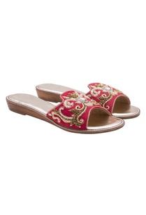 red-zardozi-embroidered-slides