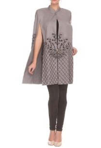 grey-cut-out-tunic-with-embroidered-details