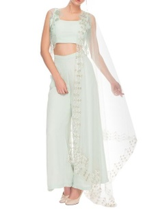 misty-blue-crop-top-and-palazzo-with-a-short-netted-jacket-and-dupatta