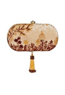 beige-sequin-embellished-clutch