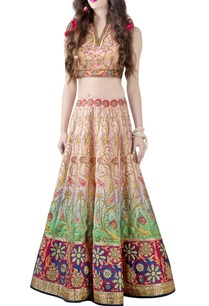 pink-green-embellished-printed-lehenga-choli