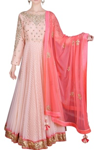 blush-pink-floral-sequined-anarkali-with-dupatta