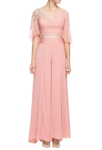 blush-pink-gota-patti-cape-top-with-palazzos