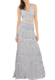 lilac-embellished-crop-top-with-skirt