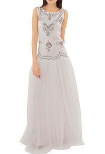 cloud-grey-embellished-tulle-gown