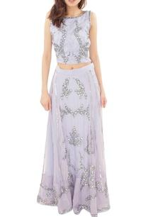 lavender-embellished-crop-top-with-skirt
