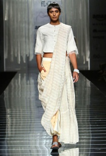 white-handwoven-sari-with-sheer-striped-detail