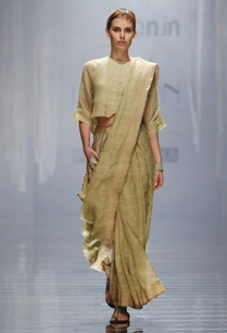 beige-and-white-handwoven-printed-sari