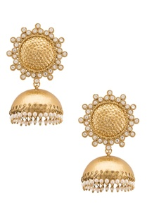 pearl-and-semi-precious-diamond-jhumkas