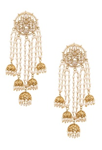 semi-precious-kundan-and-pearl-studded-earrings