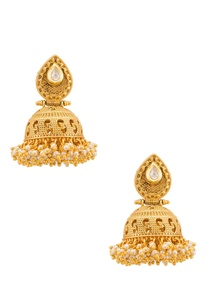 traditional-gold-plated-earring
