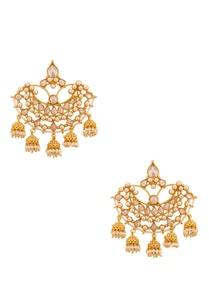 white-and-gold-pearl-and-diamond-chandbalis