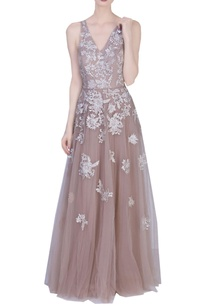 beige-floral-lace-embellished-gown
