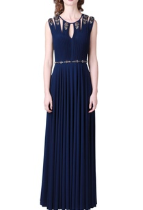 navy-blue-embellished-jersey-gown
