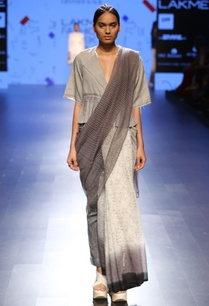 three-toned-ombre-printed-sari