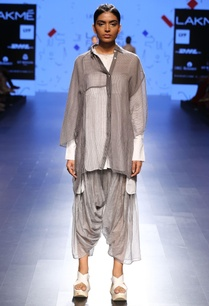 silver-grey-sheer-oversized-shirt