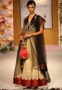 gold-and-black-zari-work-lehenga-set