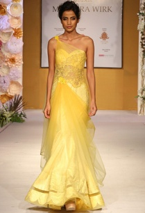 yellow-one-shoulder-embroidered-drape-gown